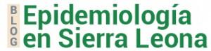 Blog de Epidemiología en Sierra Leona - César Velasco